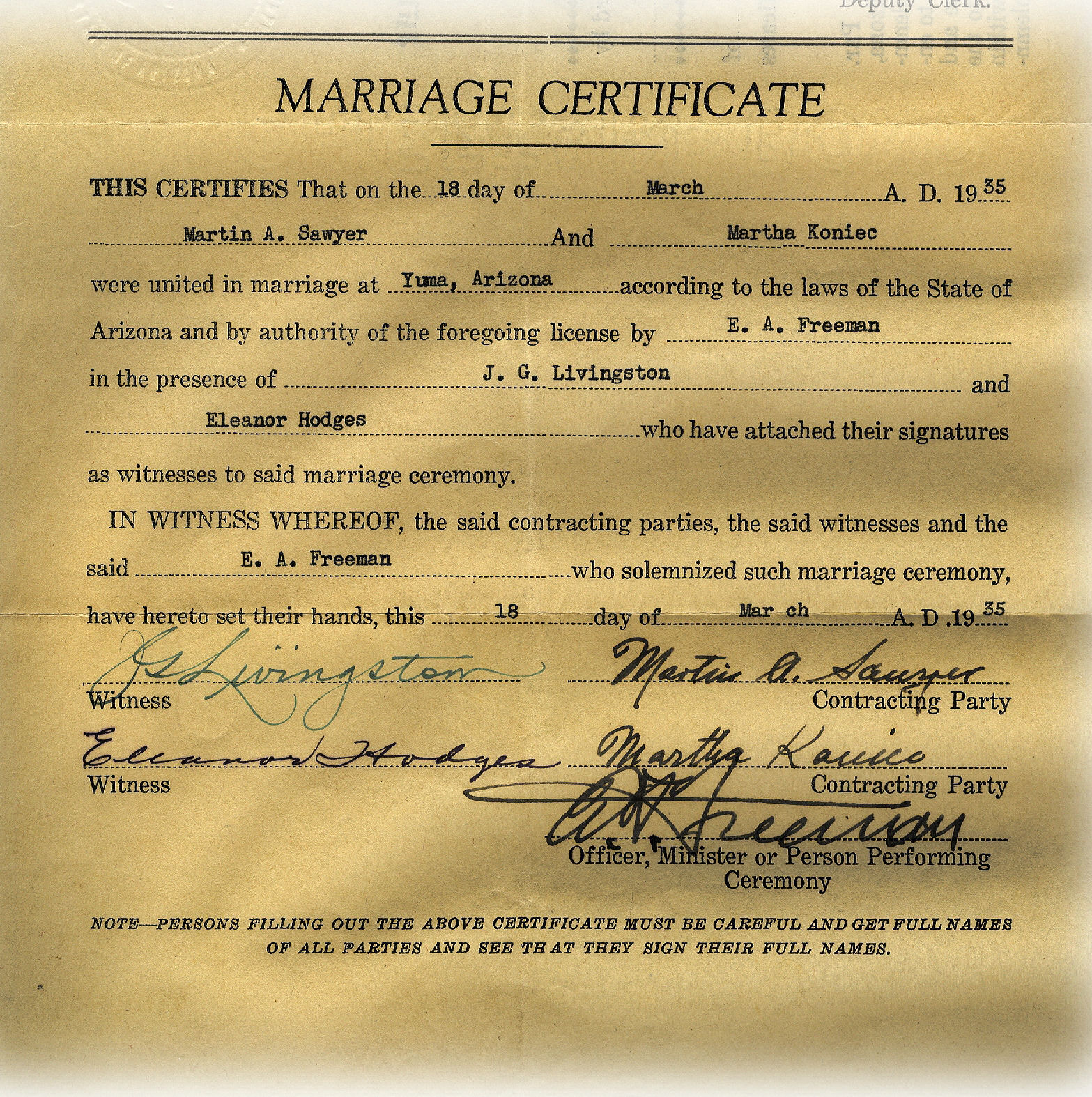 Interracial marriage license louisiana said that
